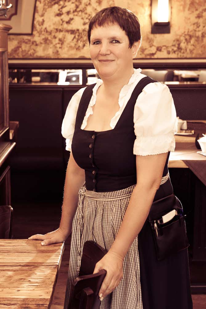 Restaurantfachfrau Kerstin Bufer